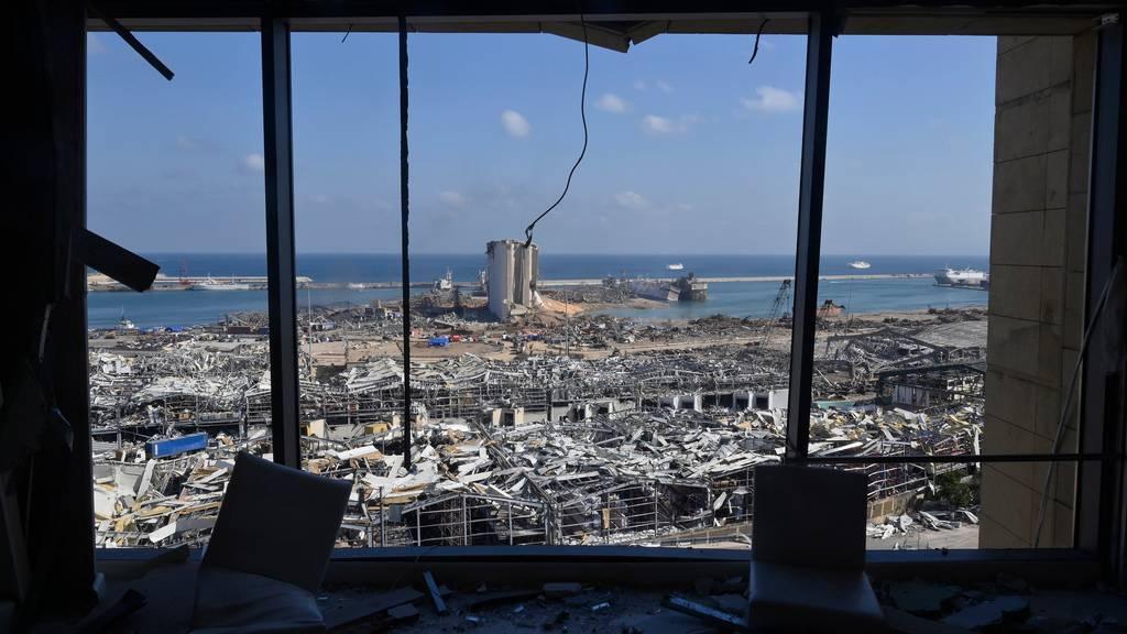 Schweiz schickt Expertengruppe nach Beirut und sagt Soforthilfe zu