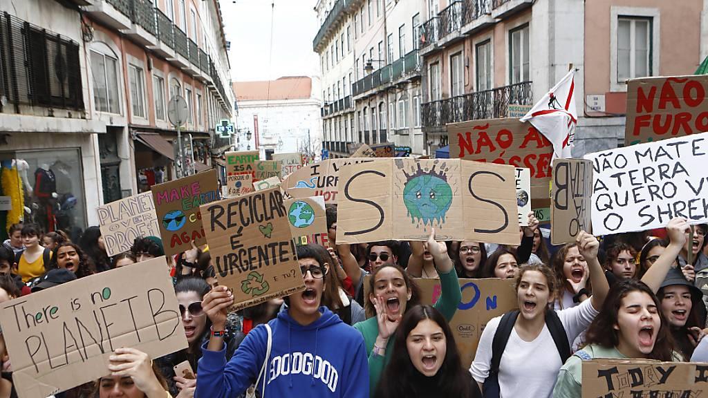 Weltweite Klimaproteste erhöhen Druck auf Politik vor Uno-Gipfel