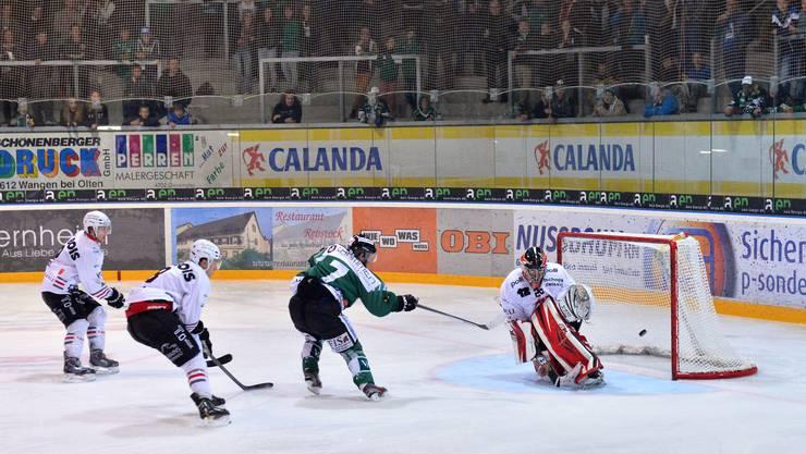 Olten mochte auch im zweiten Spiel im neuen Stadion überzeugen und siegte 6:4.