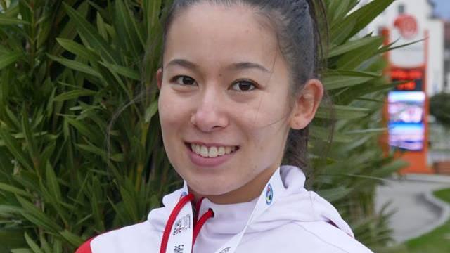 Maya Schärer: Die Karateka ist Vizeeuropameisterin in der Kategorie U21 -55kg.