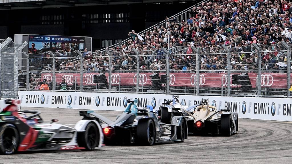 Bei den Formel-E-Rennen in Berlin sind keine Zuschauer zugelassen