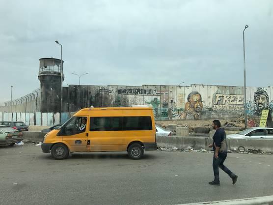 Weitere Impressionen aus Ramallah im Westjordanland.