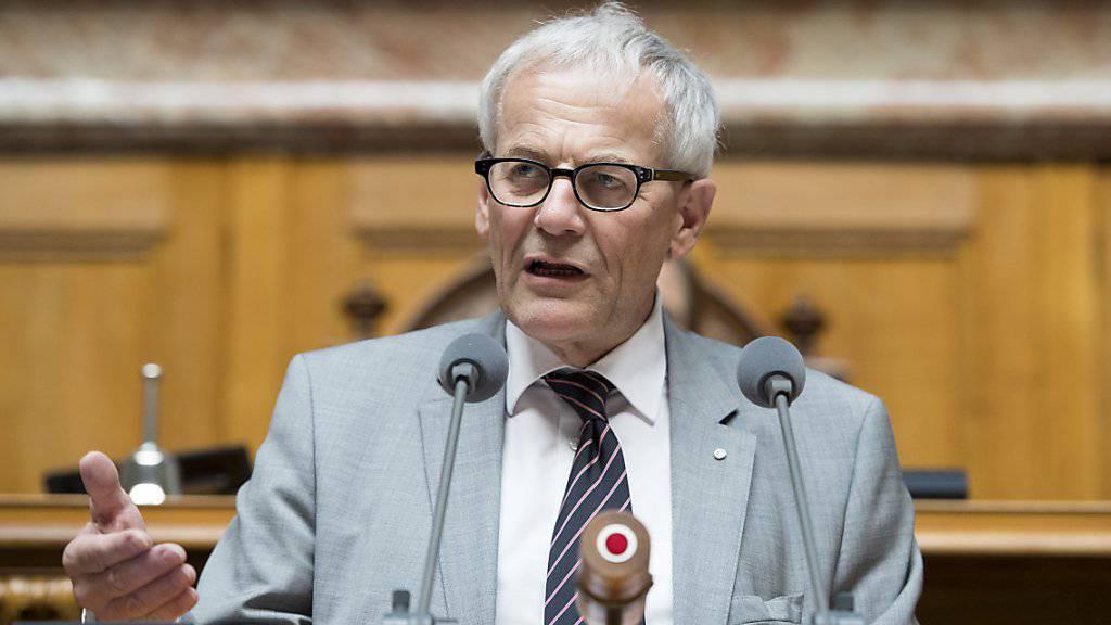 """Der Solothurner FDP-Nationalrat Kurt Fluri gilt als Architekt des """"Inländervorrangs light"""". Er musste sich im Nationalrat viel Kritik von der SVP anhören."""