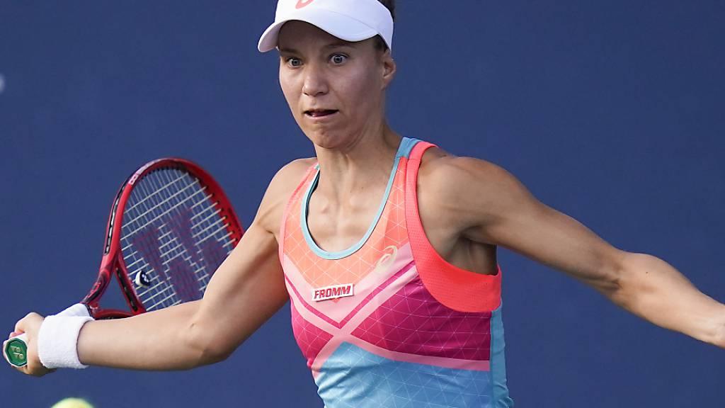Viktorija Golubic erreicht in Monterrey, Mexiko, die 2. Runde