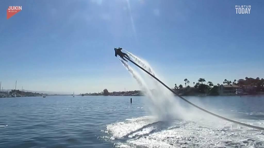 Sturzflug ins Wasser: Sie werden unfreiwillig zu Tauchern