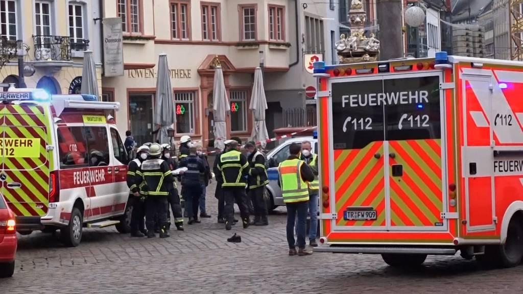 Jüngstes Opfer war ein Baby: Trier nach Amokfahrt unter Schock