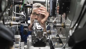 Die Schweizer Industrie erwartet weiterhin hohes Wachstum. (Archiv)