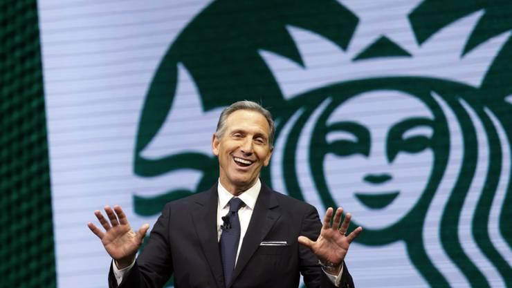 Der ehemalige Chef von Starbucks, Howard Schultz, erwägt eine Kandidatur als US-Präsident. (Archivbild)