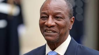 Guineas Präsident Alpha Condé. (Archivbild)