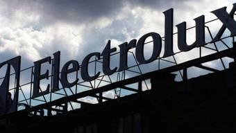 Elektrolux-Schriftzug auf einer Fabrik in Stockholm (Symbolbild)