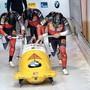 Drei Fricktaler stehen in diesem Winter im Kader von Swiss Sliding – dazu gehört auch Roger Leimgruber (l.).
