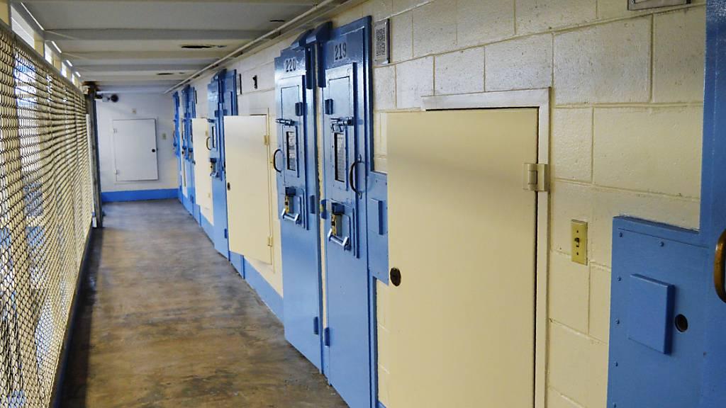 Dieses undatierte Foto, das am 11. Juli 2019 von der Strafvollzugsbehörde von South Carolina zur Verfügung gestellt wurde, zeigt den neuen Todestrakt in der Broad River Correctional Institution in Columbia, S.C. Foto: Uncredited/South Carolina Department of Corrections via AP/dpa