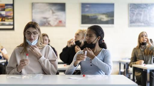 Kanton Aargau vereinfacht Corona-Tests für Schulen und Betriebe