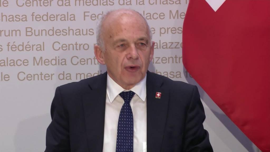 Corona-Krise: Neue Beschlüsse vom Bundesrat