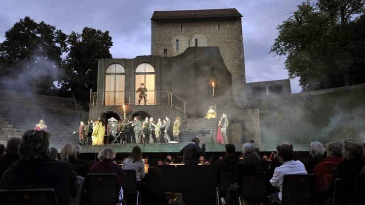 Aus und vorbei: Das Opernfestival in Avenches hatte seit 1995 jeden Sommer Zehntausende Zuschauer ins Amphitheater gelockt. (Archivbild)