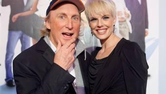 An der Schweizer Filmpremiere: Otto mit Stéphanie Berger: Foto: Tilllate