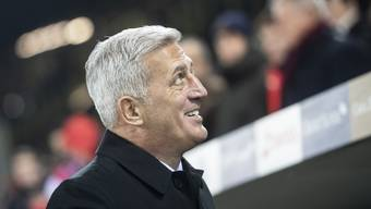 Petkovic im Match gegen Belgien
