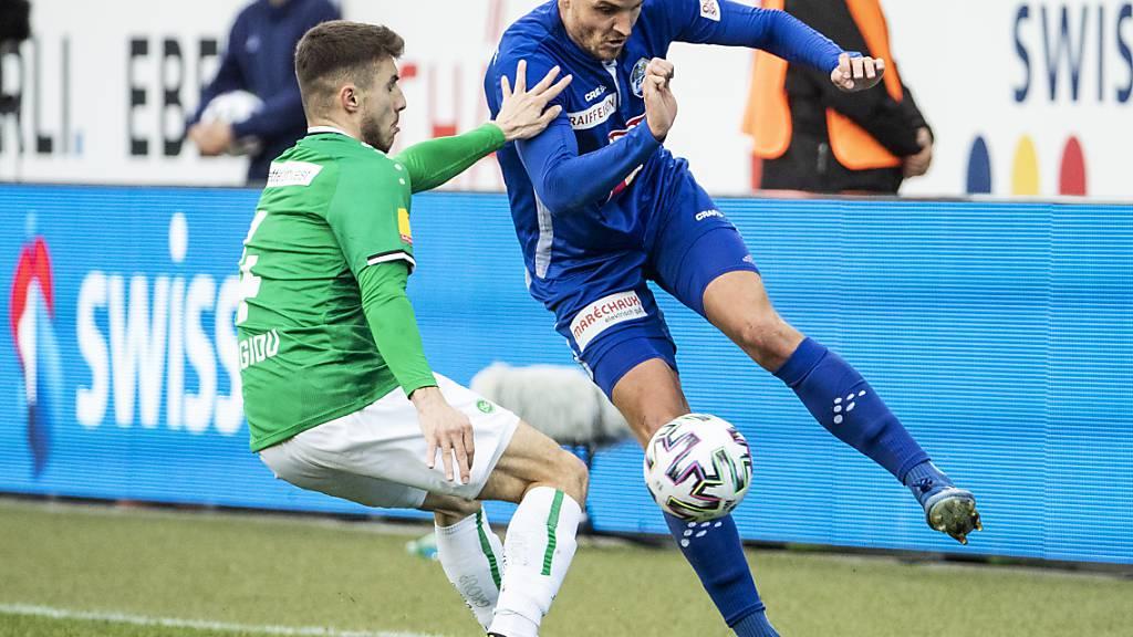 Niederlagen auch für St. Gallen und die Young Boys