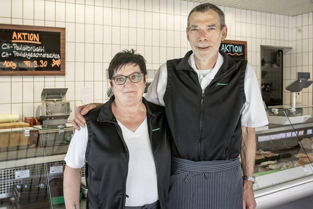 """Walter und Rita Baumann. Er arbeitet teilzeit weiter: """"Ich kann nicht von 120 Prozent auf null runterfahren."""""""