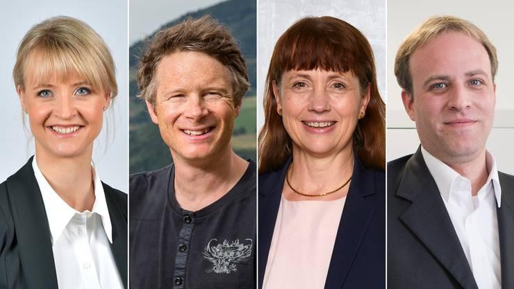 Gewählt und abgewählt im Aargau: Borer-Mathys, Fricker, Sigg, Hardmeier