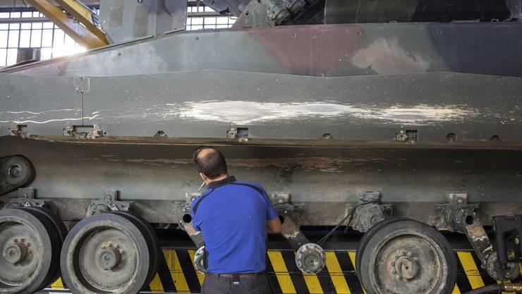 Die Ausfuhr von Rüstungsgütern sorgt schon seit Jahren für Kritik. (Symbolbild)