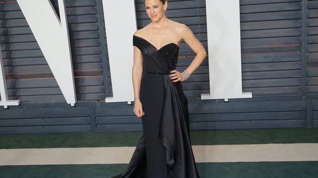 Jennifer Garner auf der Vanity Fair Oscars After-Party in dem Versace-Kleid, in dem sie Höllenqualen ausstand (Archiv).