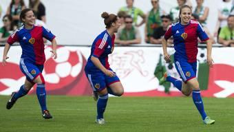 Die Frauenmannschaft des FC Basel (Archivbild).