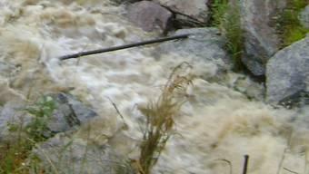 Offener Dorfbach: Das Wasser kann abfliessen.