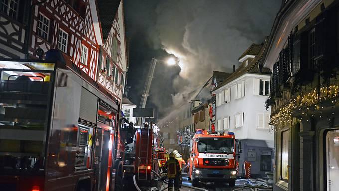 Beim Brand in Steckborn TG vom 21. Dezember 2015 entstand Schaden von zwölf Millionen Franken. Auslöser war ein überhitzter Modellbau-Akku.