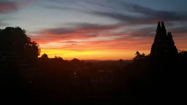 Sonnenaufgang in Rombach