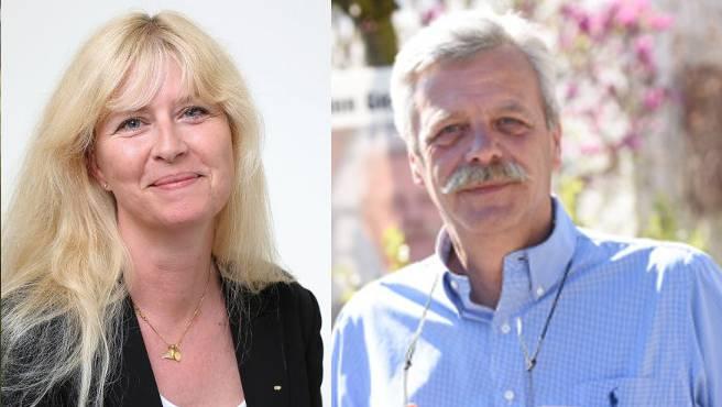 Stehen immer noch im Fokus der SVP: Allschwiler Gemeinderat Roman Klauser und seine Tochter Pascale Uccella.