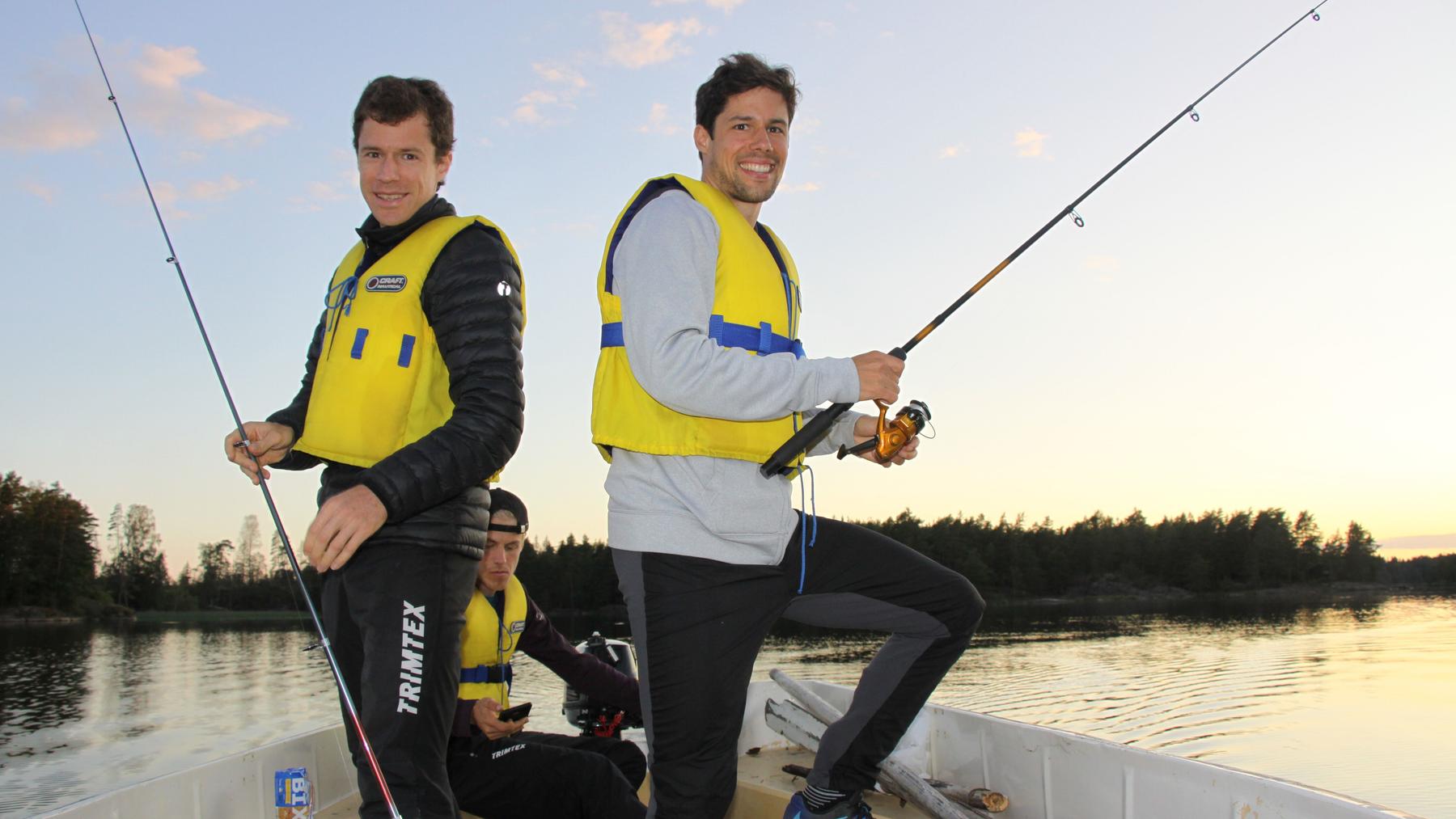 Wollen an der WM auch Medaillen fischen: Daniel und Martin Hubmann.