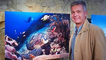 Die Unterwasserfotografien von Piero Ambrosone aus Lostorf stammen fast alle aus Indonesien.