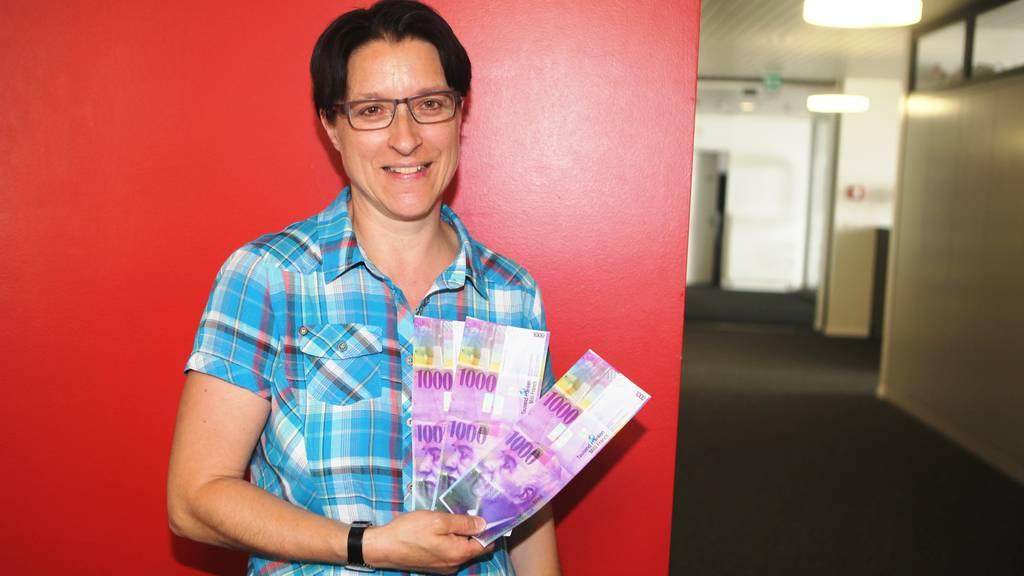Erica aus Stans gewinnt 3'300 Franken im 10x10