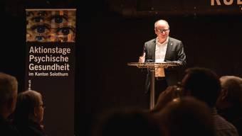 Kantonsratspräsident Urs Huber warnte vor Stigmatisierungen.
