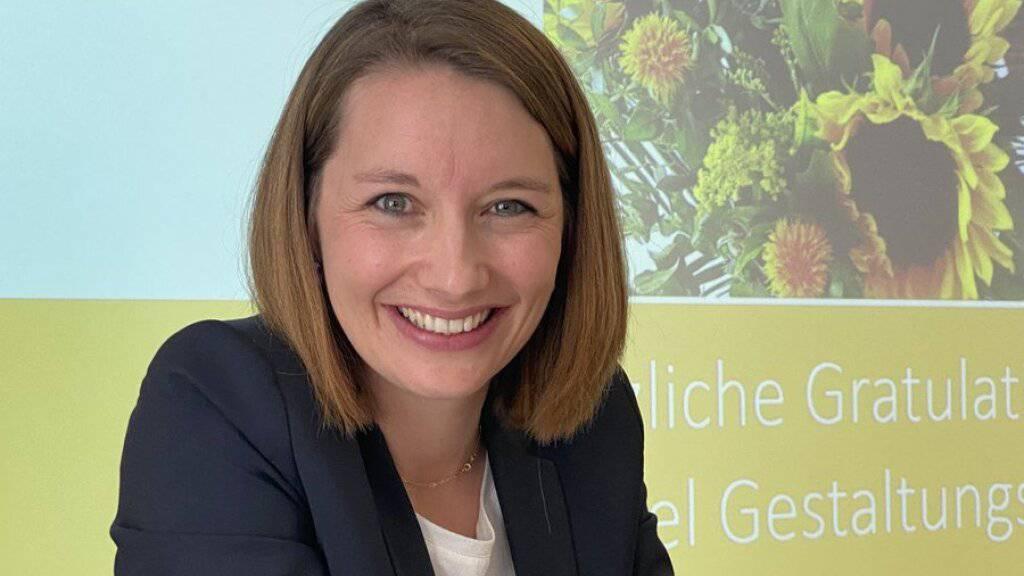 Aargauerin Christina Bachmann-Roth Präsidentin der CVP Frauen