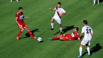 Nach dem 0:1-Sieg gegen Ex-Tabellenführer GC in der 1. Liga Gruppe 3 empfangen die Badener den FC Kosova.