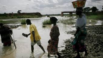 Von den jüngsten Überschwemmungen in Ghana sind laut des Katastrophenschutzes mehr als 52'000 Menschen betroffen. (Symbolbild)