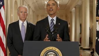 """""""Die Verbreitung von Atomwaffen im Nahen Osten ist gestoppt"""". US-Präsident Barack Obama"""