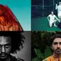 Die vier Nominierten für den Basler Pop-Preis 2020