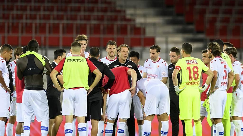 Leistungssteigerung reicht Sion nicht zum Sieg gegen Luzern