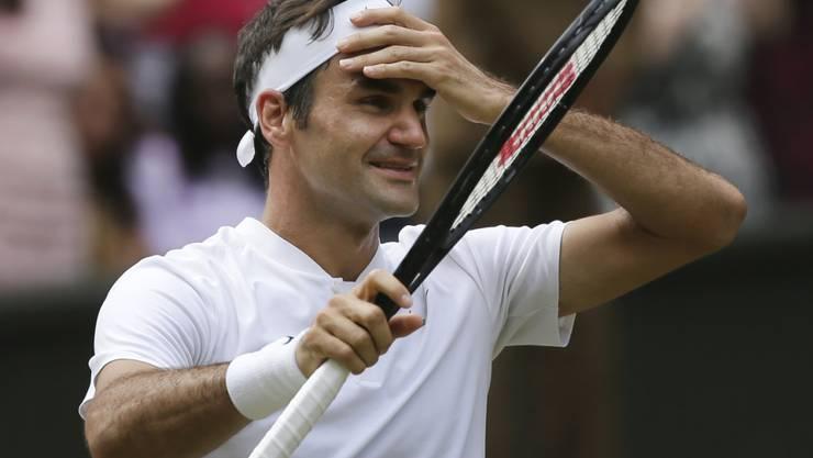 Keinerlei Probleme: Roger Federer steht in Montreal in den Achtelfinal