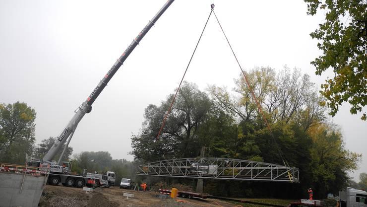 Die Reppischbrücke kommt wieder nach Hause.