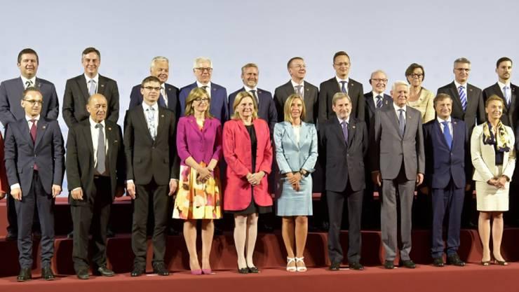 Die 28 Aussenminister der EU-Staaten sollen ihre Entscheide zur gemeinsamen Aussenpolitik nicht mehr einstimmig fällen müssen. (Archivbild)