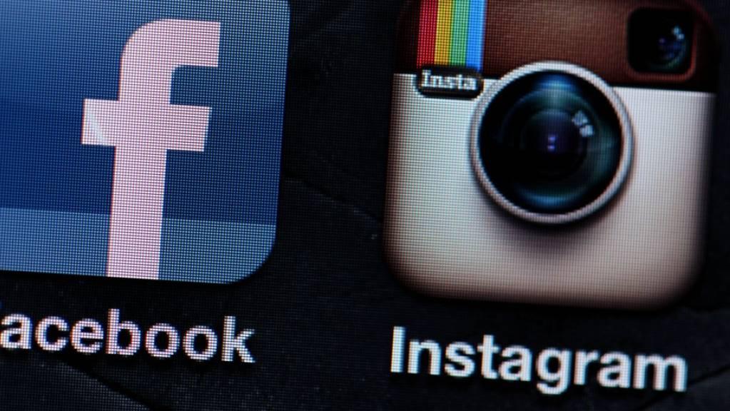 Trotz des Bedeutungsgewinns von Plattformen wie Facebook, Google, WhatsApp, Snapchat oder Instagram: Klassischen Informationsmedien wird deutlich mehr vertraut als den Suchmaschinen oder Social Media als Informationsquellen. (Archivbild)
