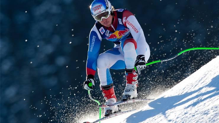 Eigentlich müsste die technisch schwierige Hahnenkamm-Abfahrt Carlo Janka auf den Leib geschneidert sein.