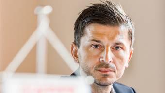Auch mit Trainer Marinko Jurendic geht es beim FC Aarau nicht wieder steil bergauf.