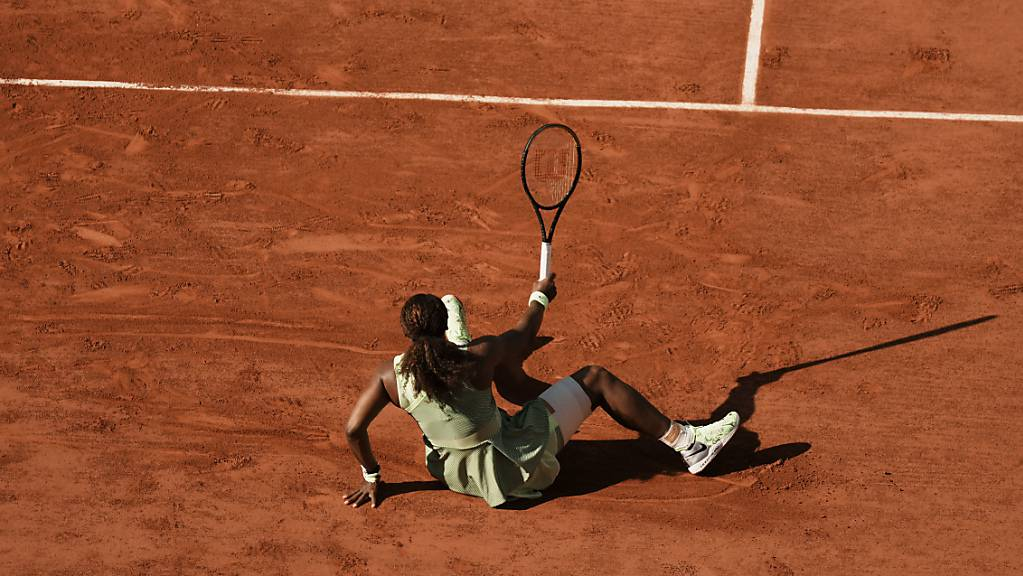 Ins Straucheln gekommen: Serena Williams schied am French Open im Achtelfinal aus.