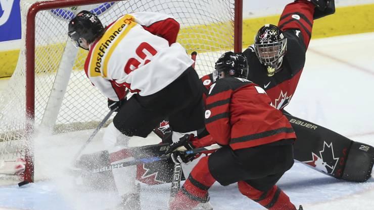 Captain mit hohen Erwartungen: Nando Eggenberger will an der U20-WM in Buffalo mit dem Schweizer Team für Furore sorgen