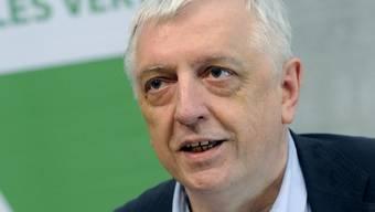Die Grünen führen «seriöse Gespräche» mit sechs Personen, sagt Ueli Leuenberger, Präsident der Grünen Partei.